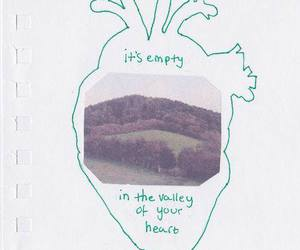 heart, drawing, and empty image