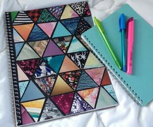 diy, school, and notebook image
