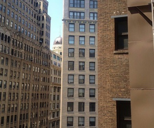 city, brown, and aesthetic image
