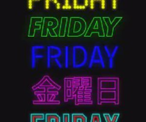 bright, colors, and friday image