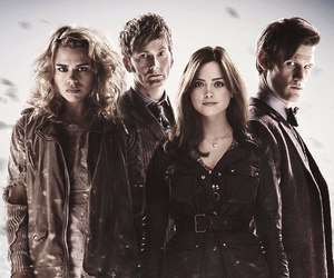 doctor who, rose tyler, and matt smith image