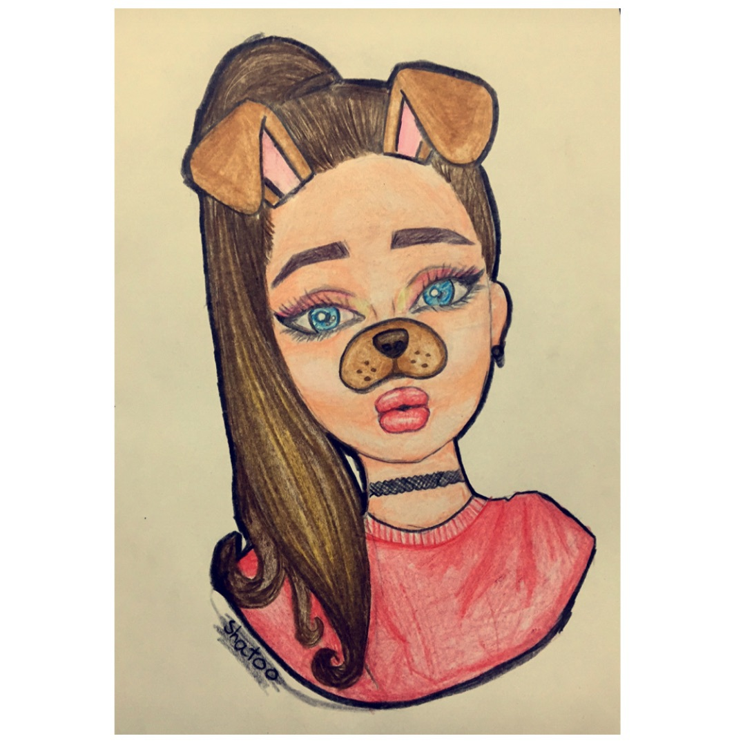 Image of: Youtube Is This Your First Heart We Heart It Cute Girl Drawing Shared By Twa On We Heart It
