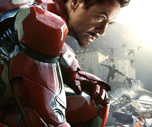 iron man, Avengers, and Marvel image
