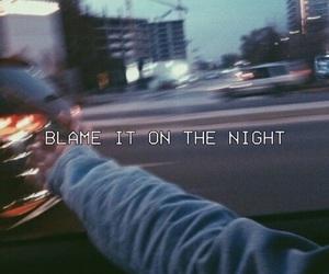 night, grunge, and blame image