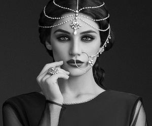 beauty, black, and indian image