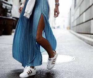 adidas, fashion, and skirt image