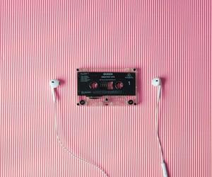 aesthetics, audio, and earphones image