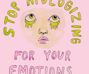 pink, emotions, and quotes image