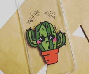 adorable, cactus, and flowers image
