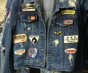 fashion, jacket, and grunge image
