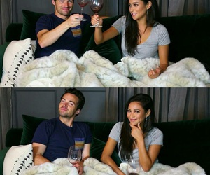 pretty little liars, shay mitchell, and ian harding image