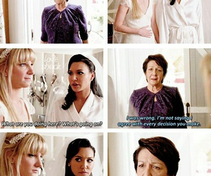 glee, lesbians, and quotes image