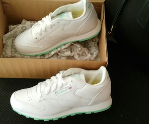 shoes, sneakers, and reebok classic image