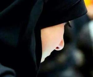 black, girl, and muslim girl image