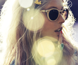 colors, fashion, and glasses image