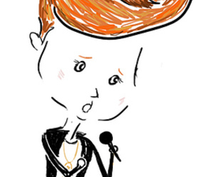 draw, drawing, and la roux image