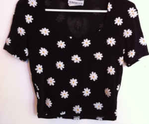 fashion, flowers, and daisy image