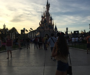 disney and parís image