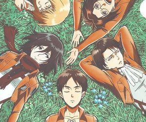 attack on titan, shingeki no kyojin, and mikasa image