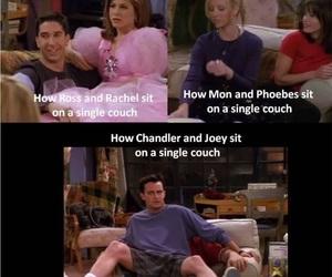 chandler bing, Courteney Cox, and phoebe buffay image