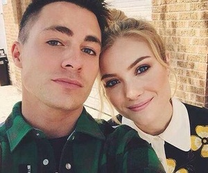colton haynes, scream queens, and skyler samuels image