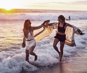 beach, happiness, and summer image