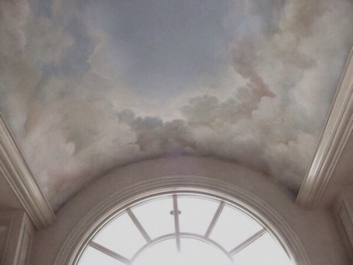 aesthetic, clouds, and art image
