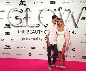 couple, glow, and youtube image