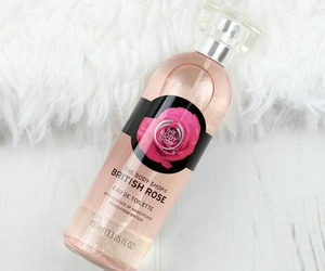 the body shop, british rose, and body care image