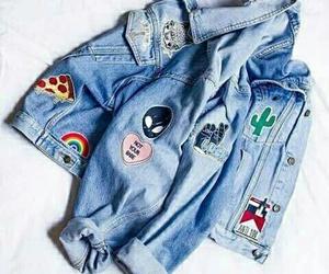 fashion, jacket, and jeans image
