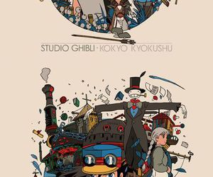 howl's moving castle, movie, and spirited away image