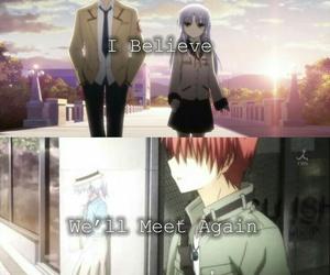 anime, angel beats, and kanade image