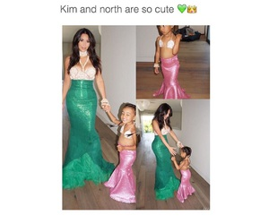 famous people, kim kardashian, and north west image