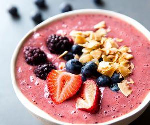 food and smoothie bowl image