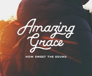 amazing grace, jesus, and worship image