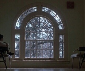 girl interrupted, alone, and window image