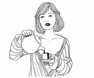girl, sara herranz, and drawing image