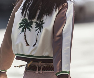 fashion, style, and palms image