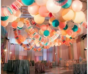 graduation, party, and globos image