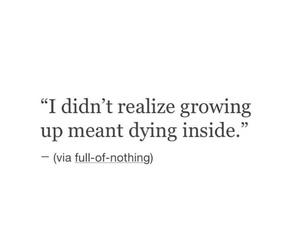 sad, life, and quote image