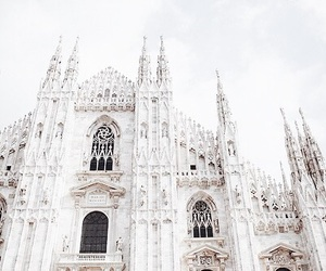 milan, white, and architecture image