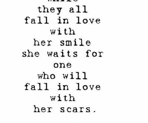 girl, quotes, and hurt image