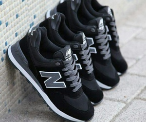 black shoes, dope, and new balance image
