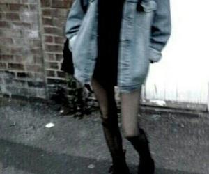 grunge, black, and dark image