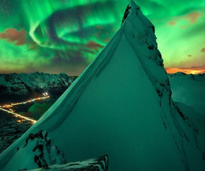 mountains, norway, and nature image