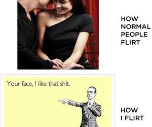 funny, flirt, and lol image