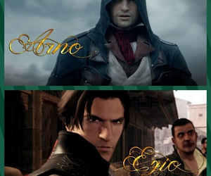 arno, assassin's creed, and altair image