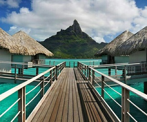 bora bora, Dream, and paradise image