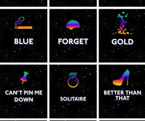 froot, marina and the diamonds, and blue image