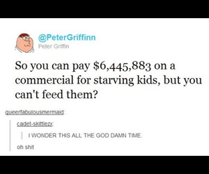 advertisement, family guy, and money image